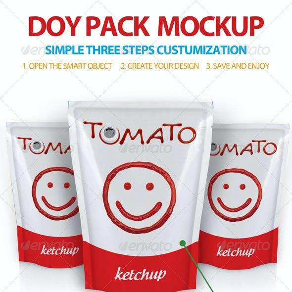 Doy Pack Mockup