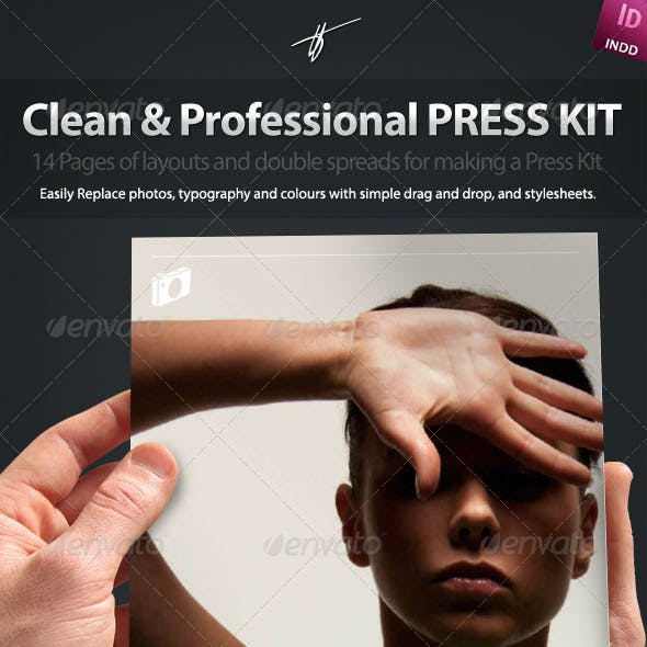 Press-Kit Style Brochure Design