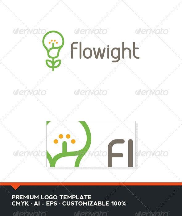 Flowight Logo Template - Nature Logo Templates