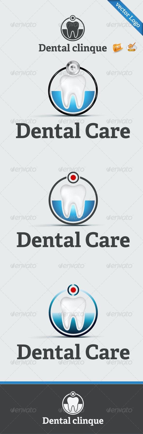 Dental Clinique Logo Template  - Symbols Logo Templates