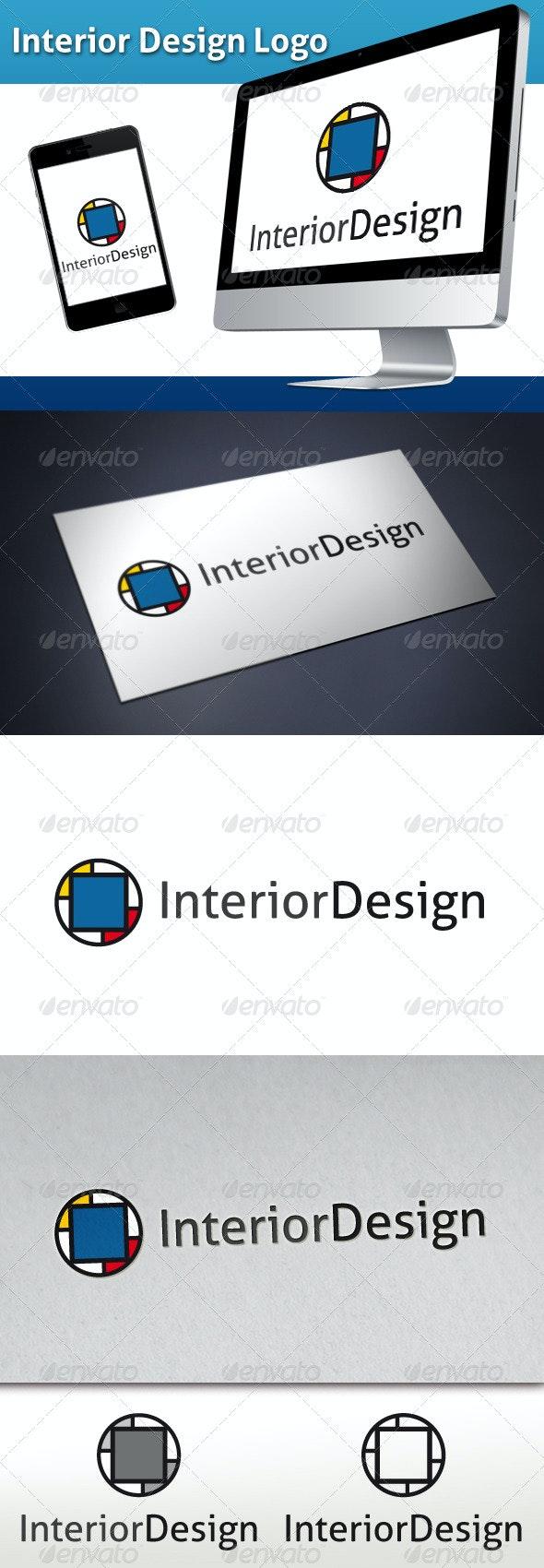 Interior Design Logo - Abstract Logo Templates