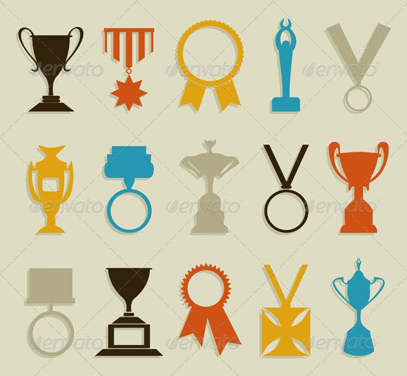 Award in sports - Miscellaneous Vectors