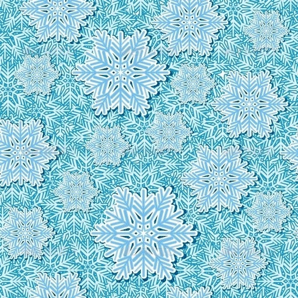 Snowflake Pop Up Seamless