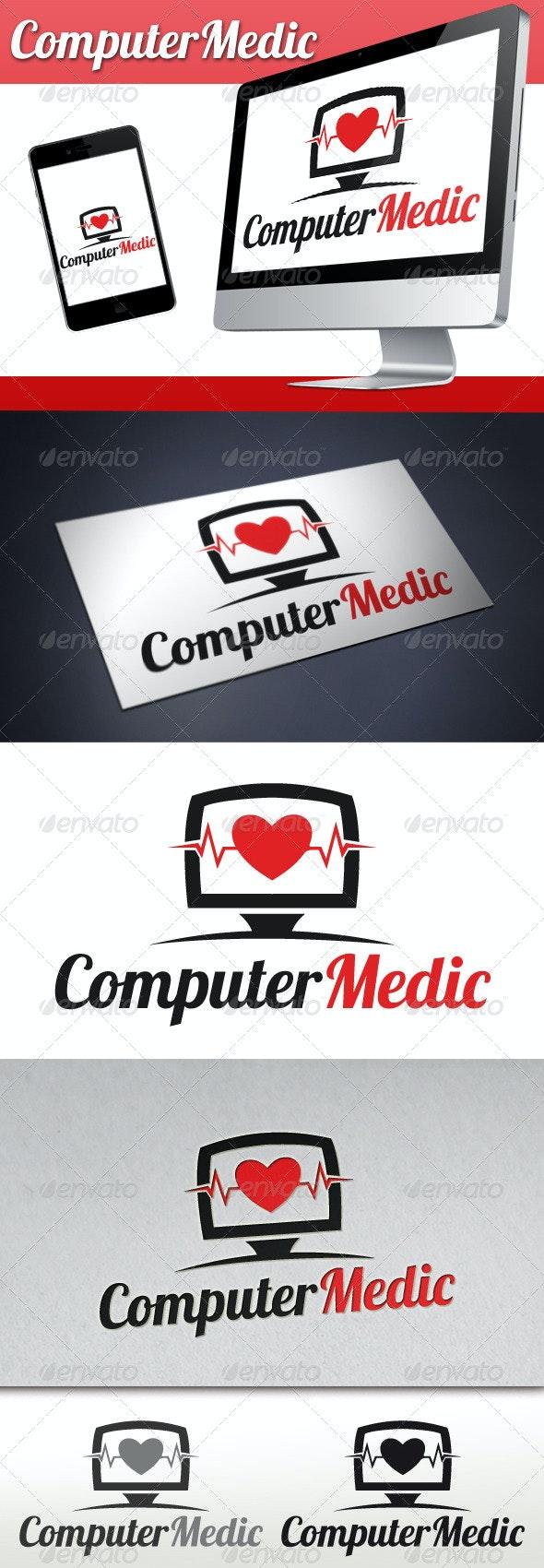 Pc Medic Logo - Objects Logo Templates