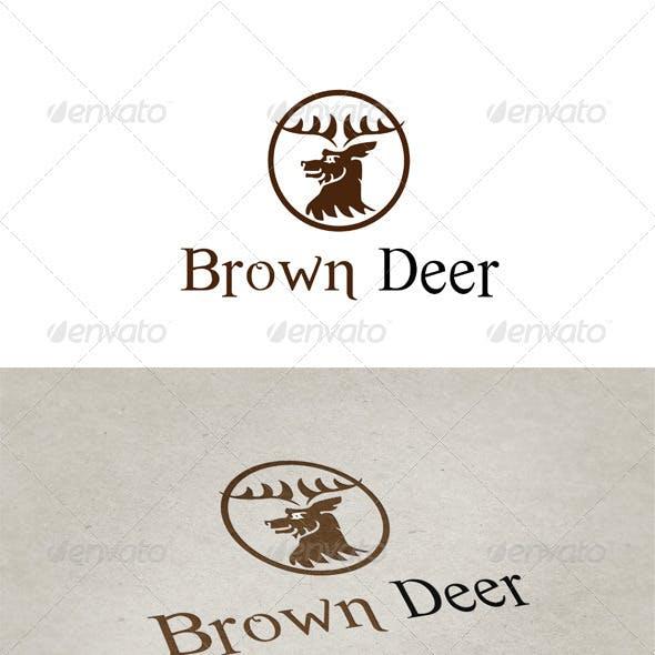 Brown Deer Logotype