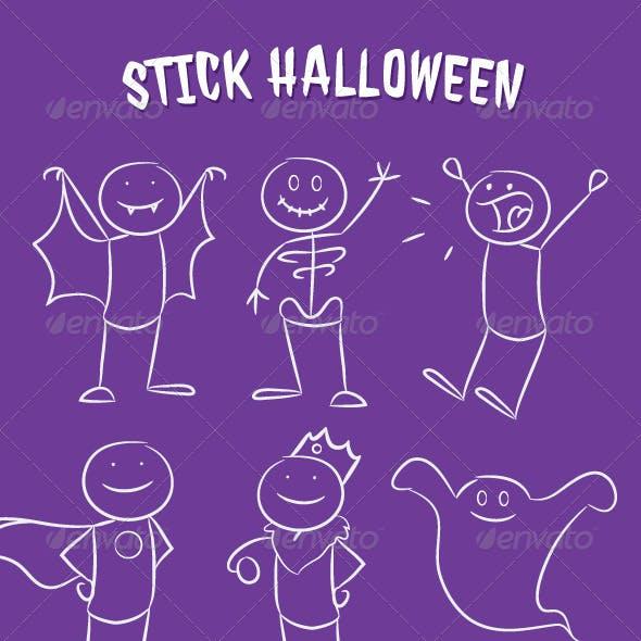 Stick Halloween