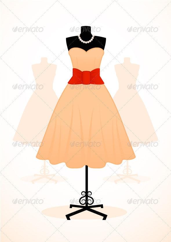 Vintage Dress - Commercial / Shopping Conceptual