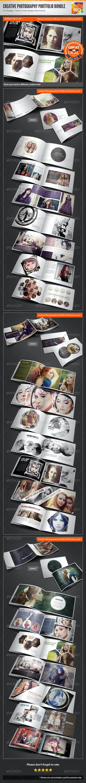 3in1 Creative Photography Portfolio A4 Brochures - Portfolio Brochures