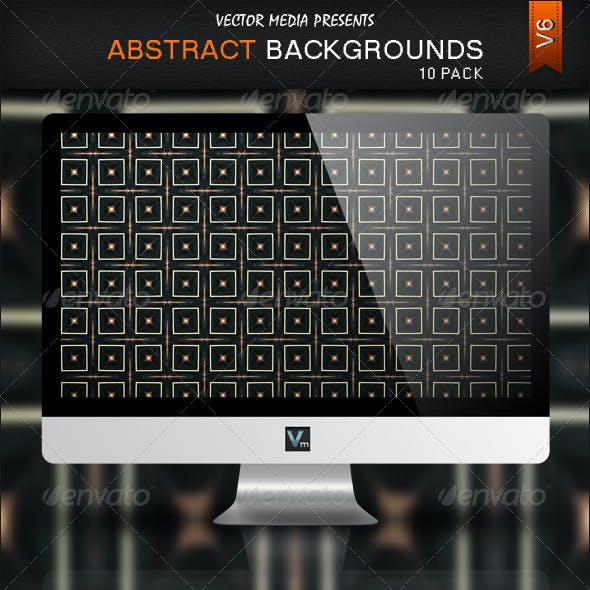 10 Pack - Abstract Backgrounds V6