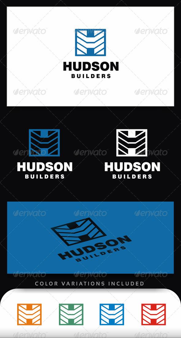Letter H logo Template - Letters Logo Templates