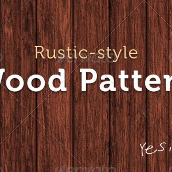 Rustic-Style Wood Texture