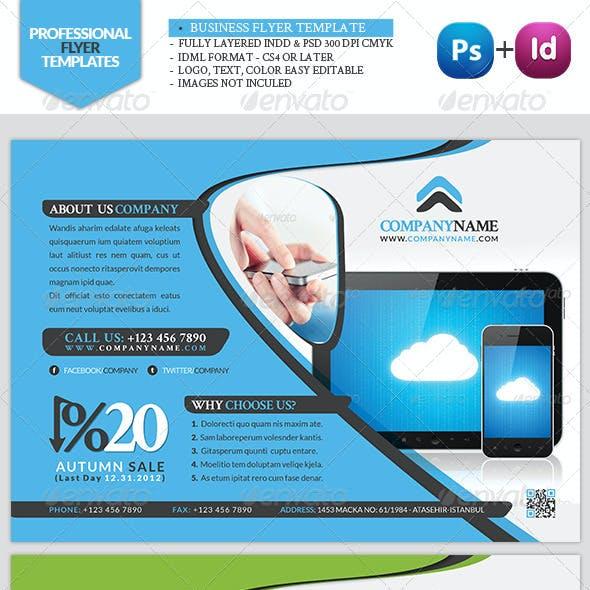 Business Flyer Tecnology