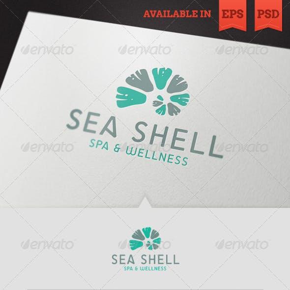 Seashell Spa Logo Template