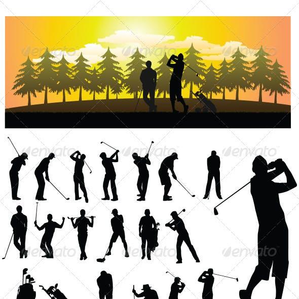 Golf Silhouette