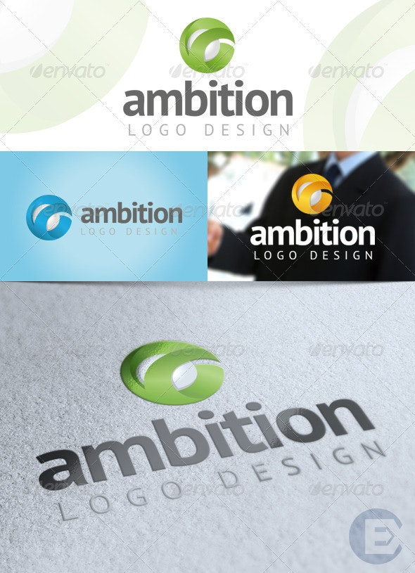 'Ambition' Logo Template - Abstract Logo Templates