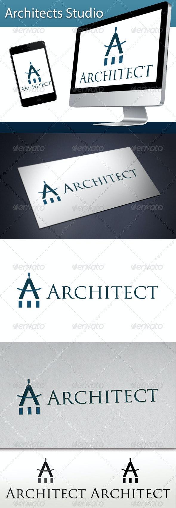 Architects Studio Logo 1 - Letters Logo Templates