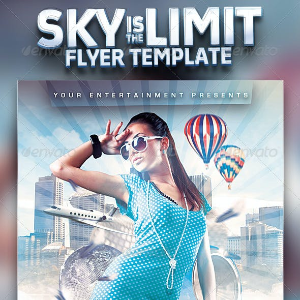 Sky Is The Limit Club Flyer