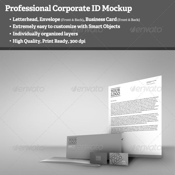 Professional Corporate ID Mockup