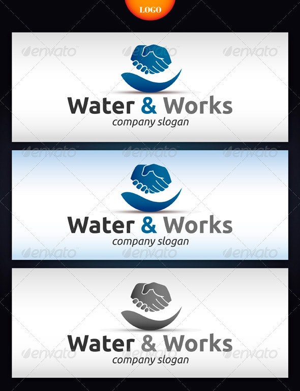 Water & Works - Nature Logo Templates