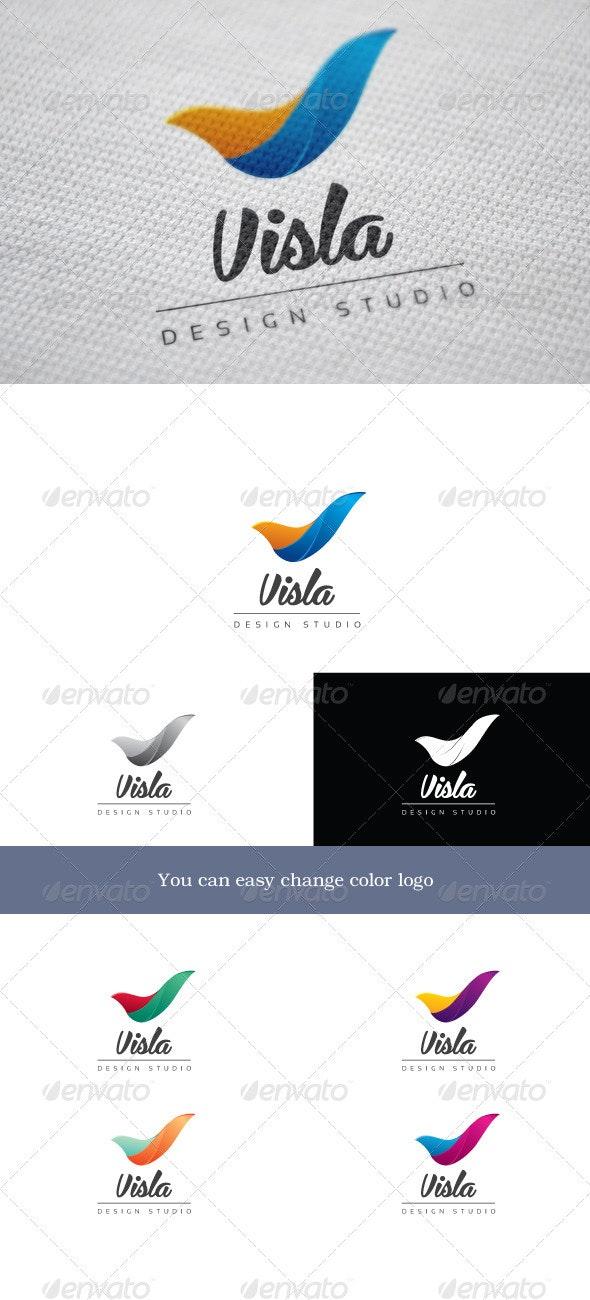 Visla - Letters Logo Templates