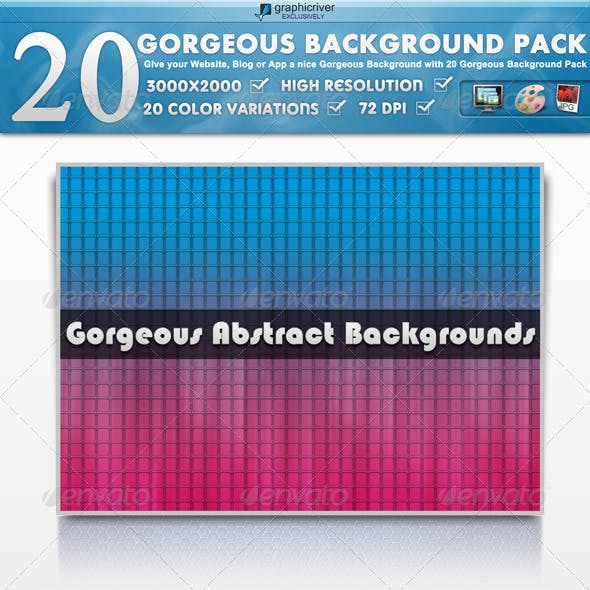 20 Modern & Colorful Background Pack