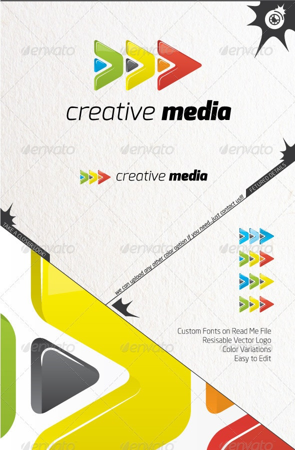 Creativity Media Logo - Symbols Logo Templates