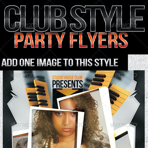 *Club Style Party Flyer*