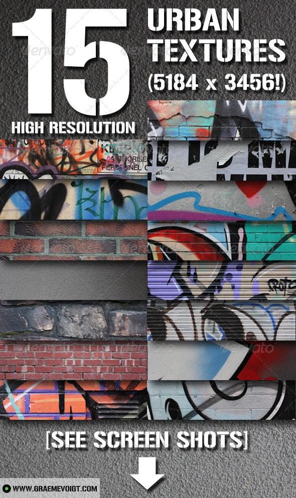 15 Urban Grunge Textures - Industrial / Grunge Textures
