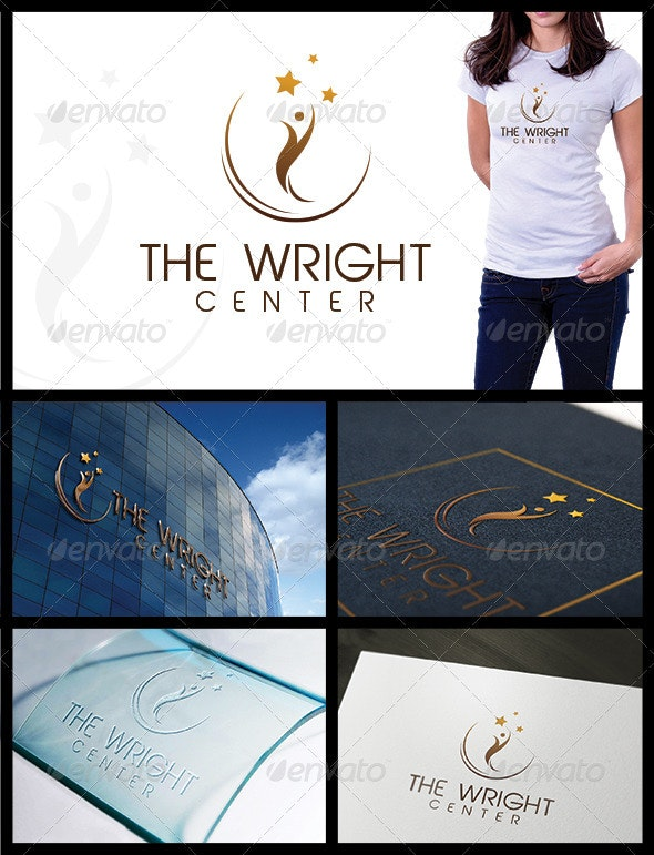 The Wright - Symbols Logo Templates