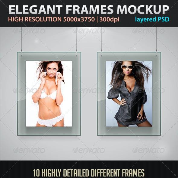 Elegant Frames Mockup