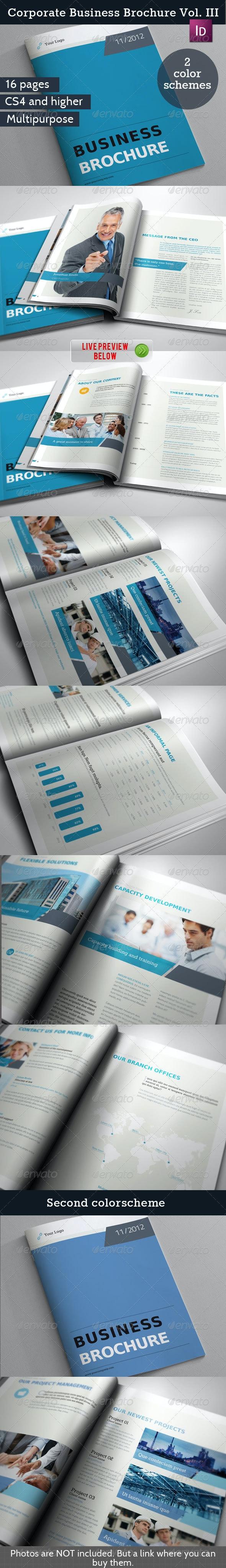 Business Brochure / Report Vol. II - Corporate Brochures