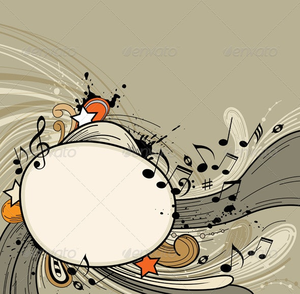 Abstract Music  Background - Abstract Conceptual