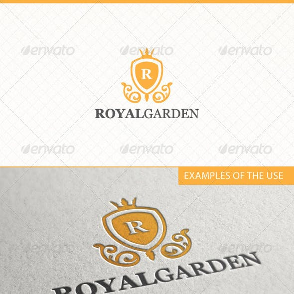 Royal Garden Logo Template