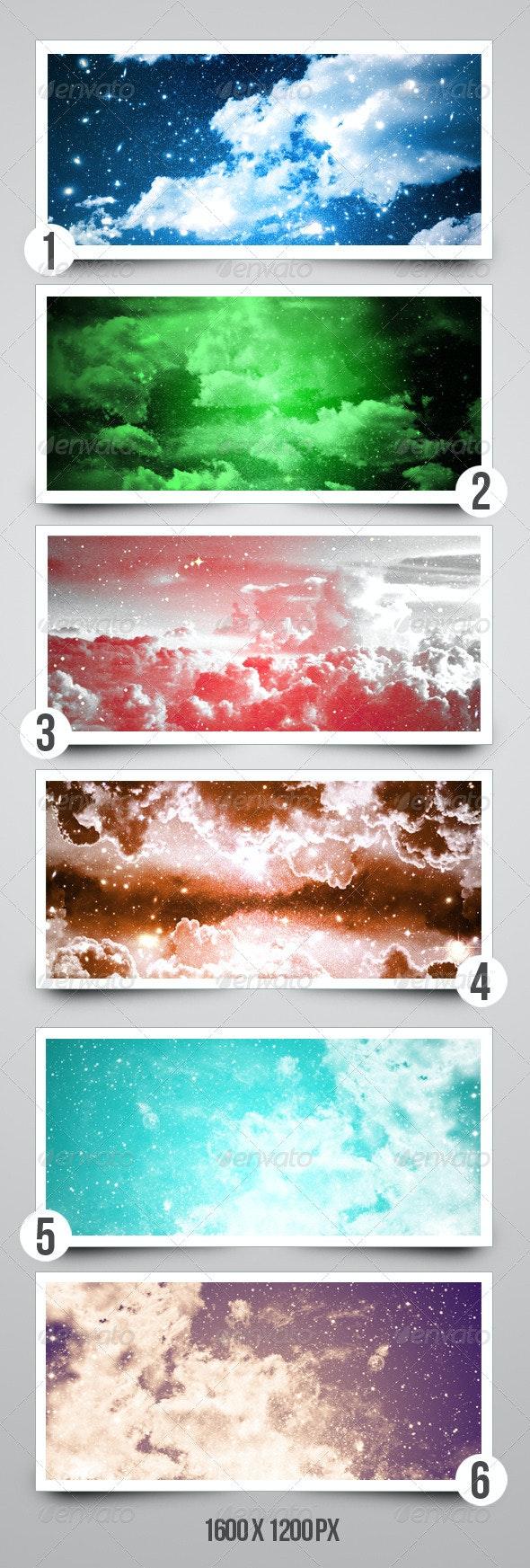 Fantasy Cloud Background Texture - Space / Celestial Textures