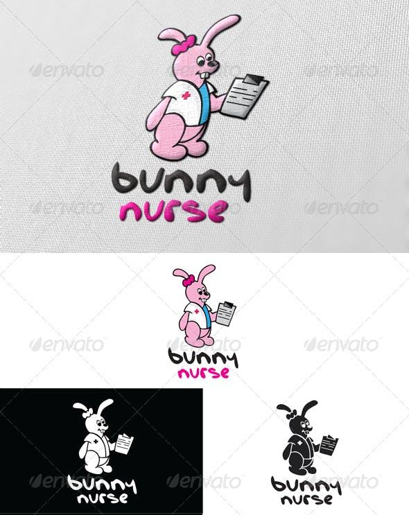 Bunny Nurse Logo