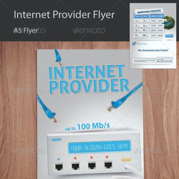 Wireless Internet Provider Flyer