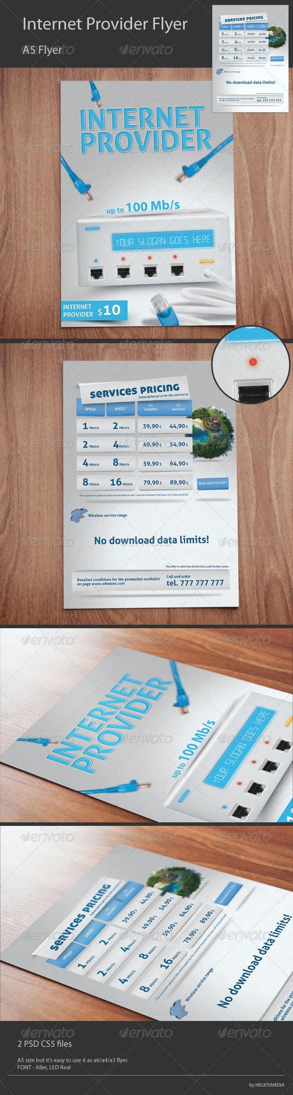 Wireless Internet Provider Flyer - Corporate Flyers