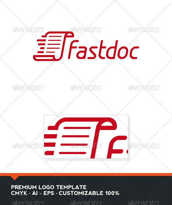 Fast Doc Logo Template - Objects Logo Templates