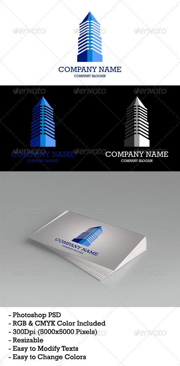Home & Office Logo Template - Buildings Logo Templates