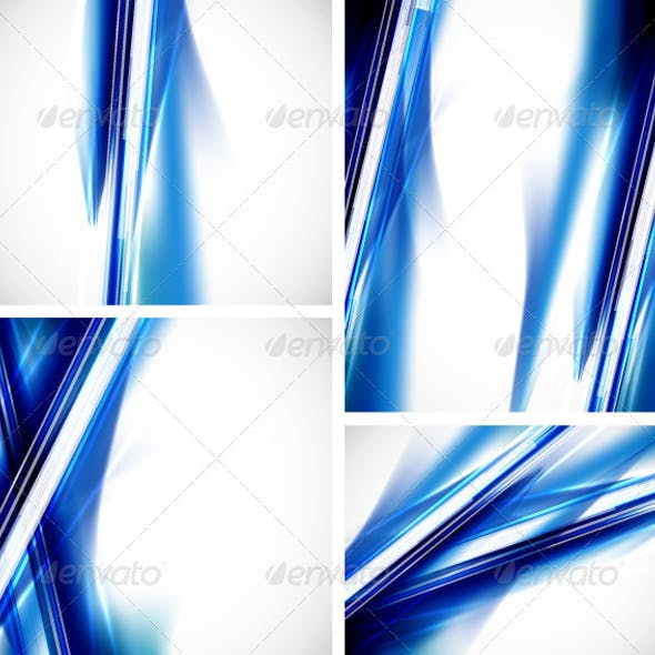 Vector Blue Lines Backgrounds