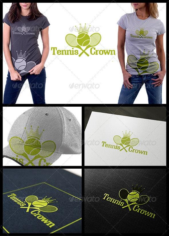 Tennis Crown - Symbols Logo Templates