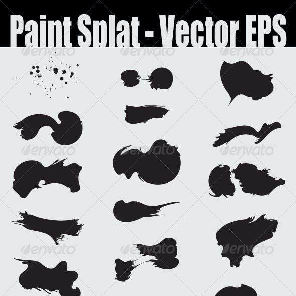 Paint Splat - Vector EPS