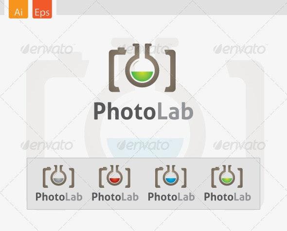 PhotoLab Logo Design - Abstract Logo Templates