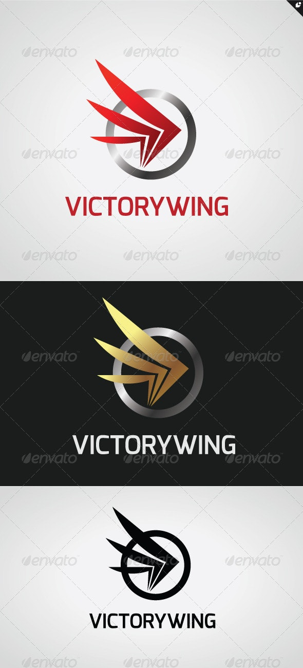 Victory Wing Logo - Animals Logo Templates