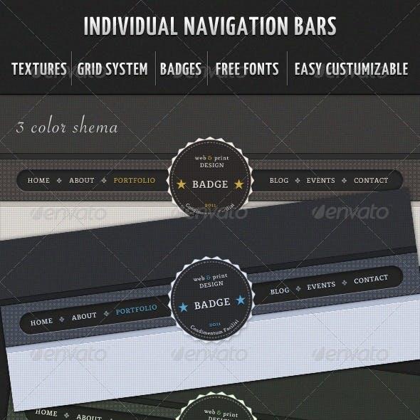 Individual Navigation Bars