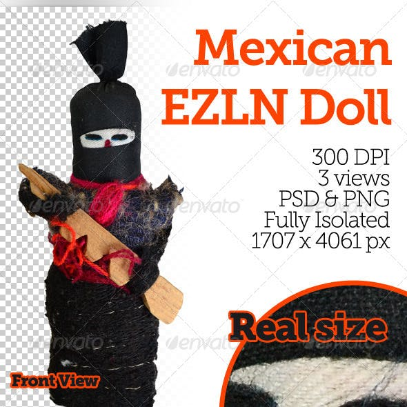Mexican EZLN Doll