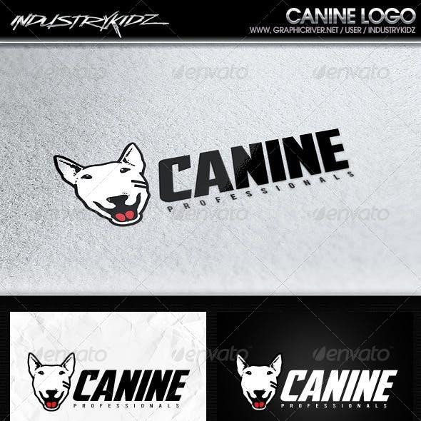 Canine logo template