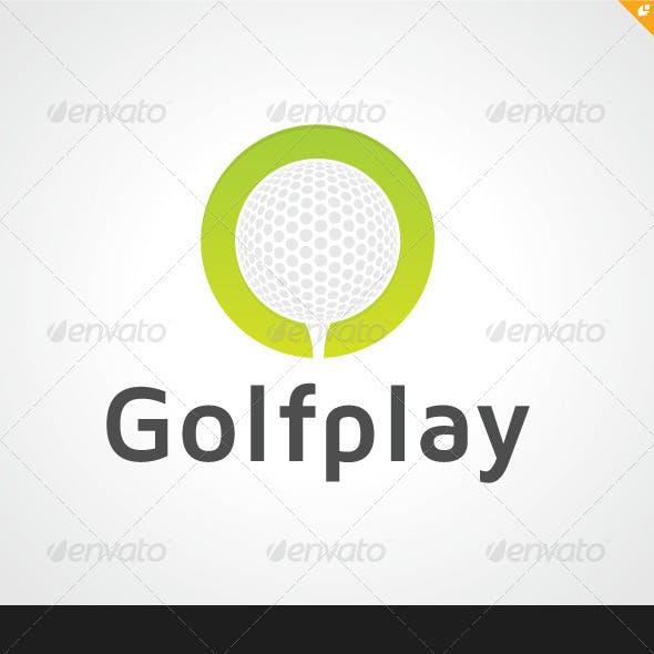 Golf Play Logo