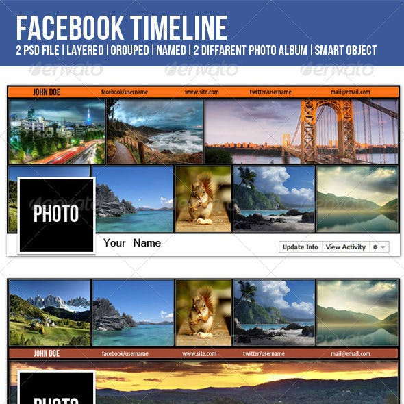 FB Timeline for photographer