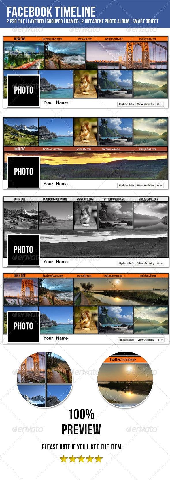 FB Timeline for photographer - Facebook Timeline Covers Social Media